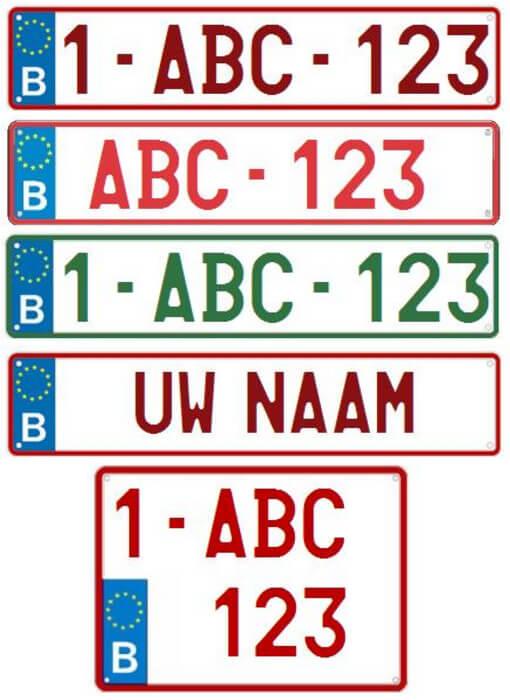 Nummerplaten